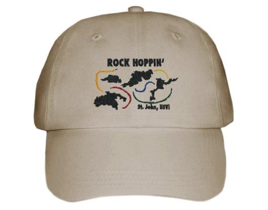 embroidered hat khaki full hat